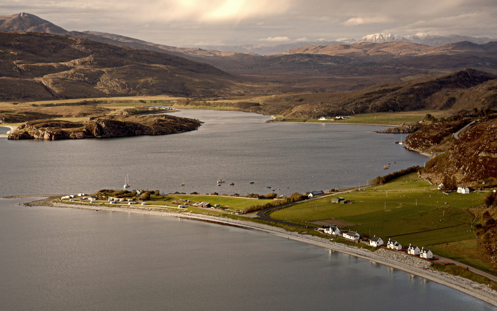 ARDMAIR BAY AERIAL VIEW